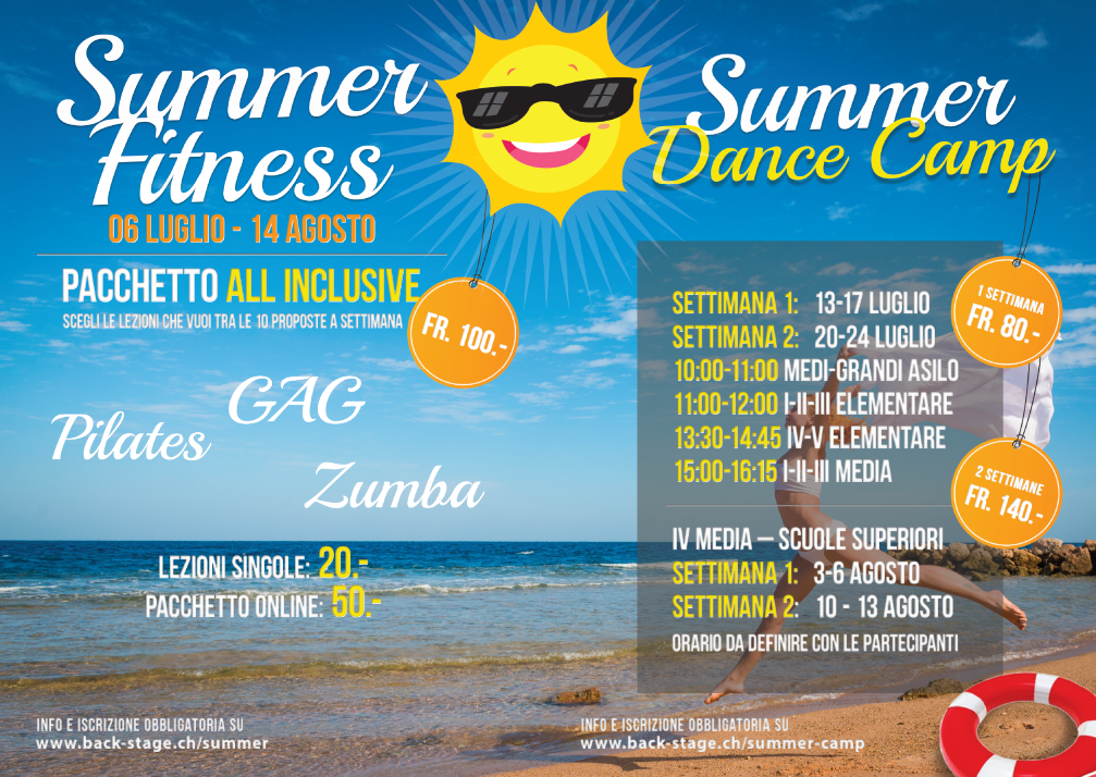 Summer fitness & Summer dance camp
